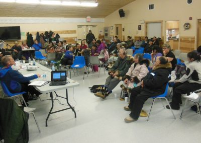 Meeting with Ulukhaktok residents