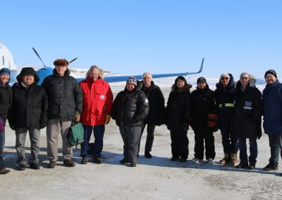 At the airport in Ulukhaktok